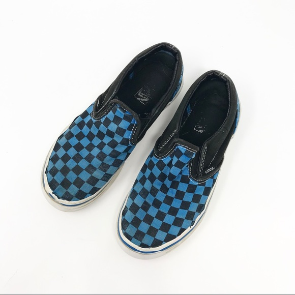 Vans Other - Vans | Blue and Black Checkered           S1-120-1